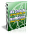 Thumbnail Bum Marketing Secrets Revealed